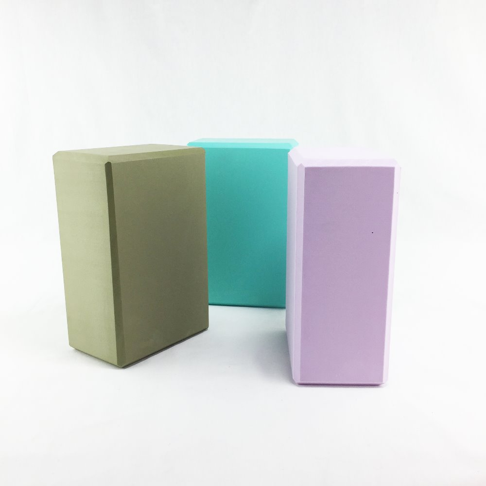 13 Colors available Yoga Blocks EVA High-Density 4