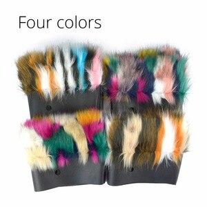 Image 4 - Tanqu Bolso de piel sintética para mujer, bolsa de felpa térmica, ajuste clásico, pequeño, 2018