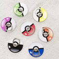 New Cool 360 Degree with pokemons ball Finger Ring Mobile Phone Smartphone Stand Holder For iPhone iPad all Smart Phone tablet