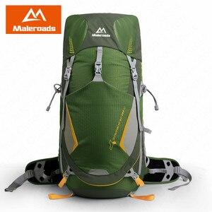 Image 4 - Maleroads 50L กลางแจ้งแคมป์กระเป๋าเป้สะพายหลังปีนเขากระเป๋าผู้ชายผู้หญิงกลางแจ้ง Breathable เดินป่าตั้งแคมป์ปีนเขา