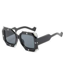 Vintage Sunglasses Women Punk Luxury Brand Designers Retro Female Sun Glasses For eyewear
