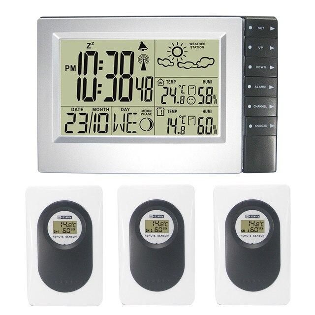 RF Radio Controlled Digital Wireless Weather Station Weather ...