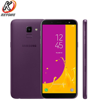 New original Samsung Galaxy J6 D/S J600GD 4G LTE Mobile Phone 5.6 4GB RAM 64GB ROM Dual SIM 3000mAh Fingerprint Android Phone