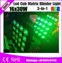 2pcs/lot RGB 3IN1 LED Matrix 16X30W Blinder Light 4X4 Stage light(China)