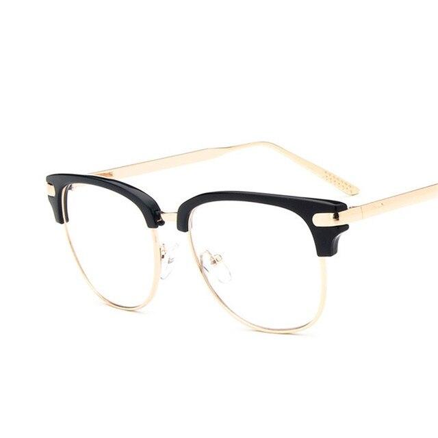 Vazrobe Clear Glasses Frame Men Women Transparent Eyeglasses Frame ...