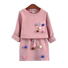 3 4 5 6 7 8 Year Girls Skirts Suits 2019 New Spring Autumn Children Clothing Set Long-Sleeved Shirts Fashion Kids Clothes boys girls sport suits casual children clothing set spring autumn high quality kids clothes 4 5 6 7 8 9 10 year tracksuits