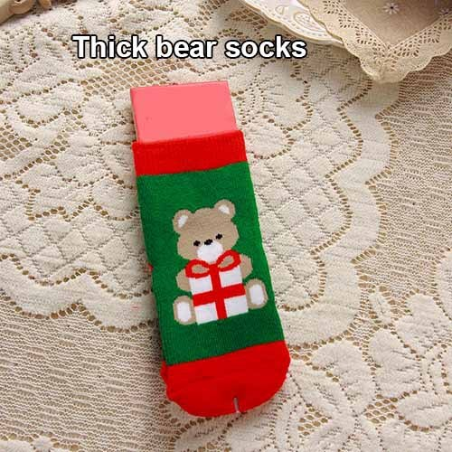 thick socks bear Christmas gifts for 5 year olds smoke realistic 5c64f7b434f52
