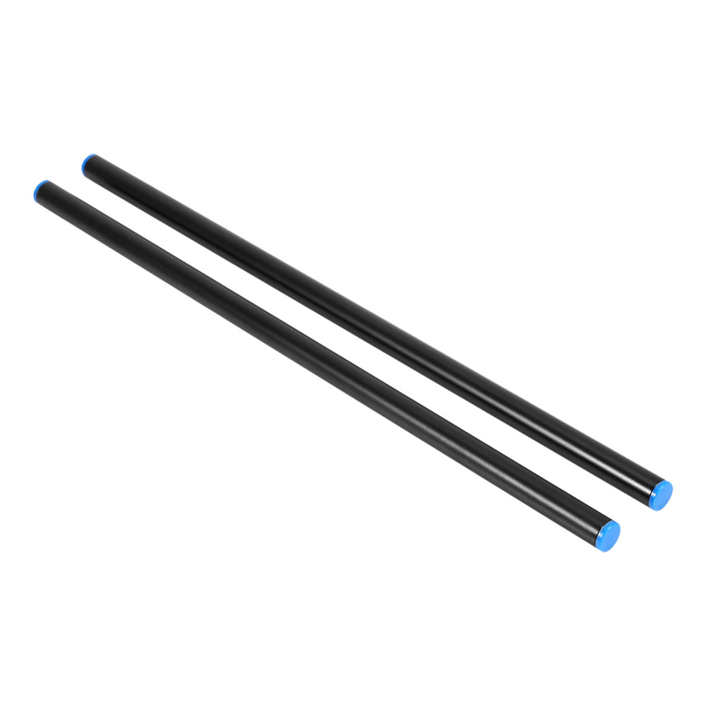 Camera Alloy Rod 2Pcs 40cm 15mm Follow Focus Rig Cage Alloy Rod Rail System For Camera Camcorder DV Y3PM Camera Accessories
