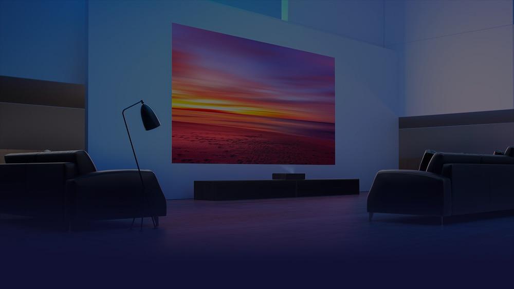Xiaomi mijia laser 4K projector 5000