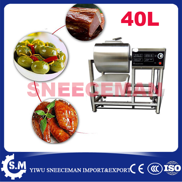 40L Meat Salting Marinated Machine chinese salter machine hamburger shop FAST pickling machine with timer