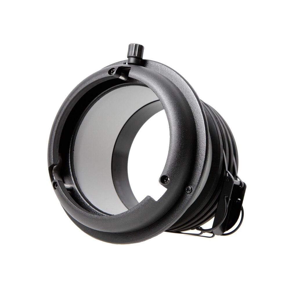 Adaptador Profoto Cabeça para Bowens Speedring Montar Conversor Para Acessórios de Iluminação de Estúdio Fotografia Softbox Snoot Beauty Dish