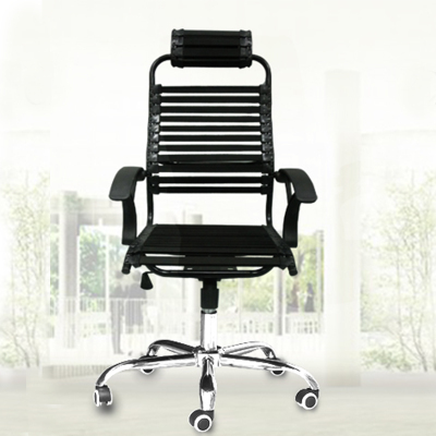Breathable Elastic Rubber Band Chair Home Student Bow Health Chair Esports Chair Dormitory Rotating Office Computer Chair
