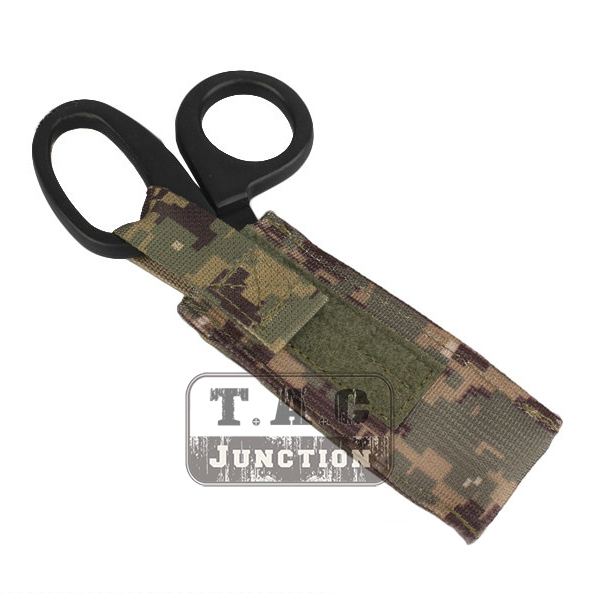 Emerson Tactical Paramedic EMT EMS Medical Scissors Shears Sheath Pouch Holster EmersonGear Molle Medical Accessory Tool Bag