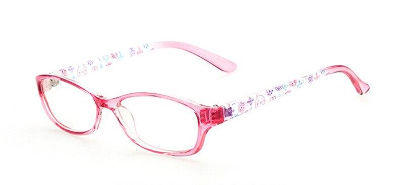 Новая модная детская одежда для мальчиков и девочек полный обод оправы для очков близорукость Rx ребенка детские очки Фирменная Новинка - Цвет оправы: Pink