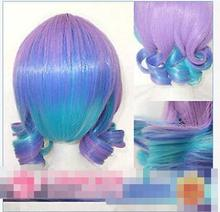 Wholesale heat resistant LY free shipping VOCALOID Anti The Infiniti Holic Cosplay Short Wig