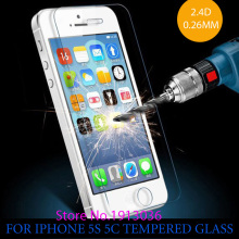 aikooki 0.26 mm for iphone 6 6s Tempered Glass 5S screen Film 9H protection glass Film for iphone5s 6S Tempered Glass protective