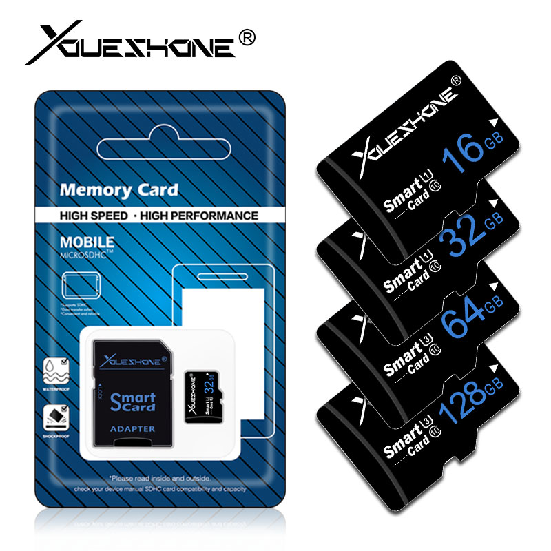 Real Capacity Micro Sd Card 4GB 8GB 16GB 32GB Microsd TF Card Mini Sd Memory Card 64GB Tarjeta Micro Sd 256GB High Quality