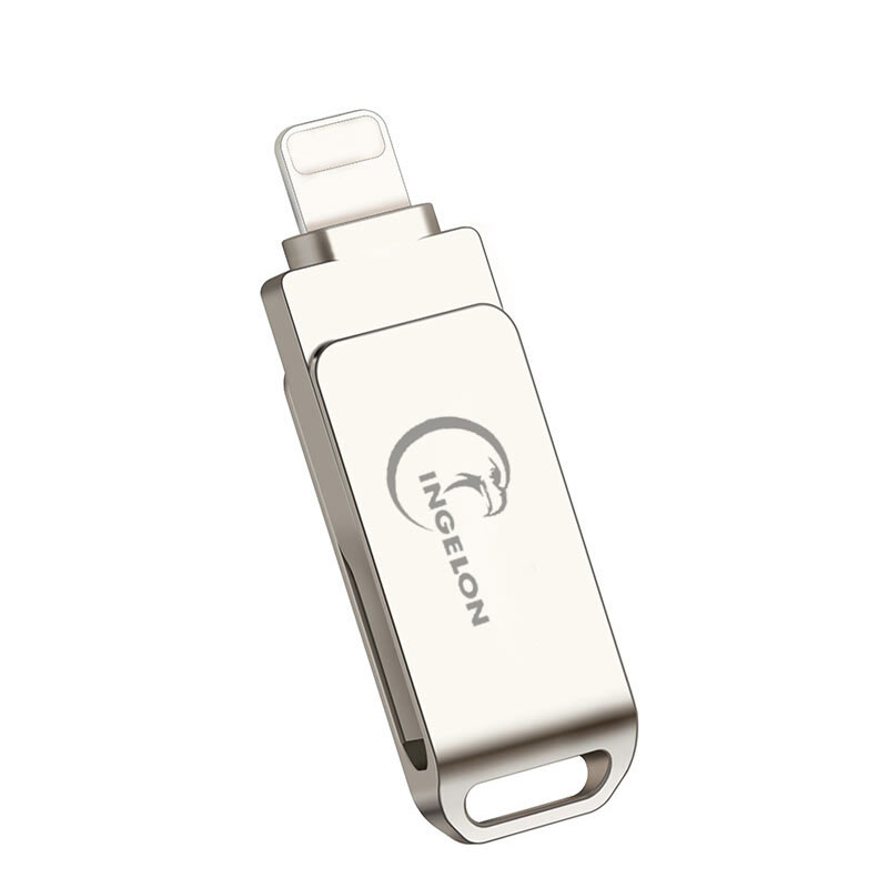 2in1 mini usb flash drive 32GB pen drive lightning usb memoria stick 16gb 64g 128gb micro usb for iphone ipod ipad pc pendrive