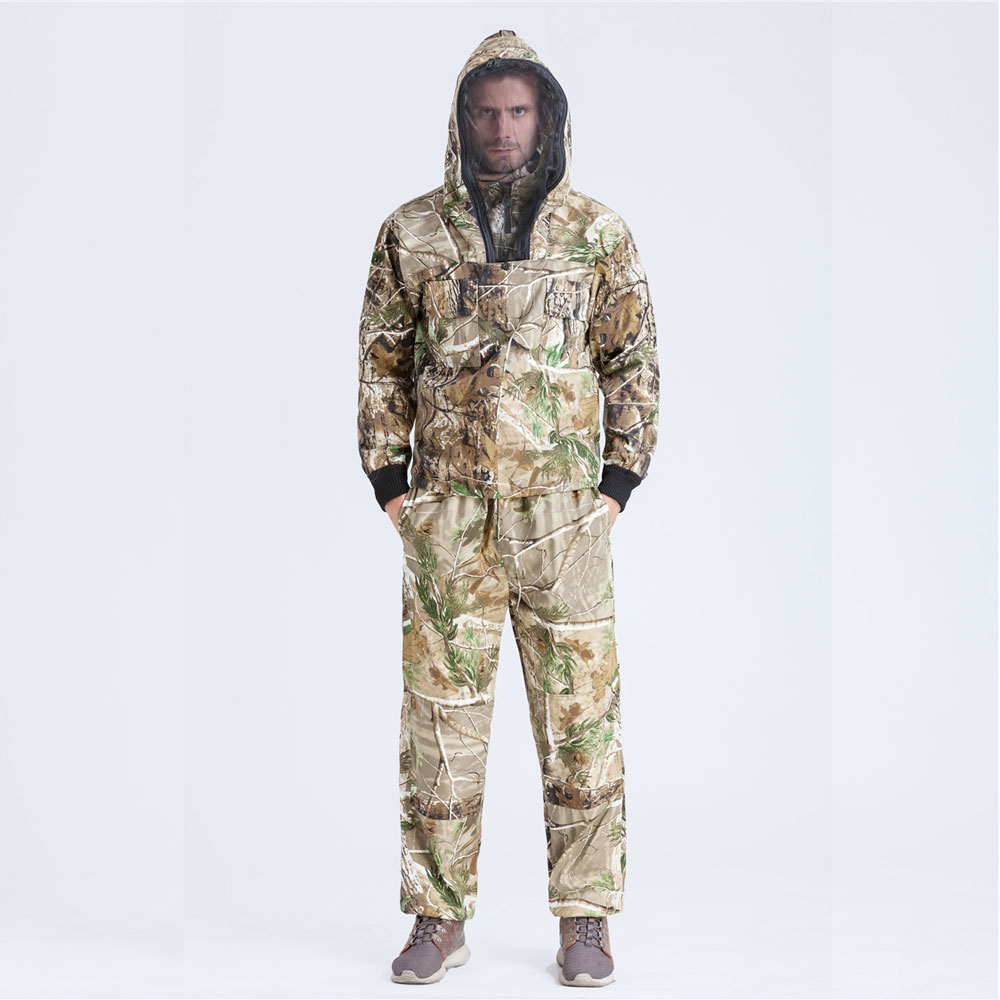 Bionic Camo hunting Ghillie Suits Prevent Mosquito Outdoor ...