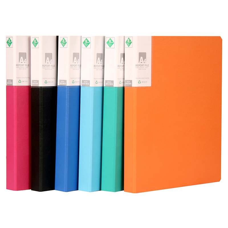 Coloffice Creative New A4 Long Press Folder Filing Product Office Folders Document Folder Business Stationery Wholesale 1piece