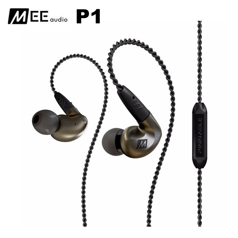 Original MEE Audio Pinnacle P1 Audiophile Bass HIFI DJ Studio Monitor Music In-Ear Earphones w/ Detachable Cable VS Pinnacle P2 программное обеспечение corel pinnacle studio 20 plus ml