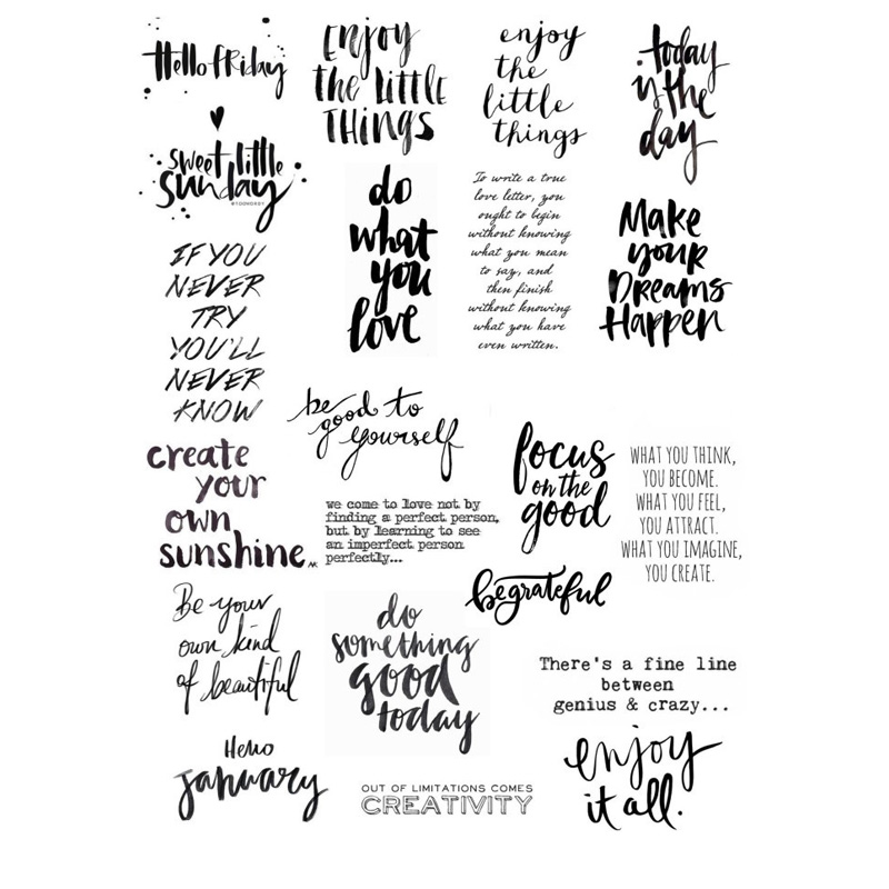 Stationery Stickers Objective 2 Pcs Fashion Magazine Cover Diy Uncut Decoration Scrapbook Stationery Diary Sticker Planner Cute Label Travel Stickers