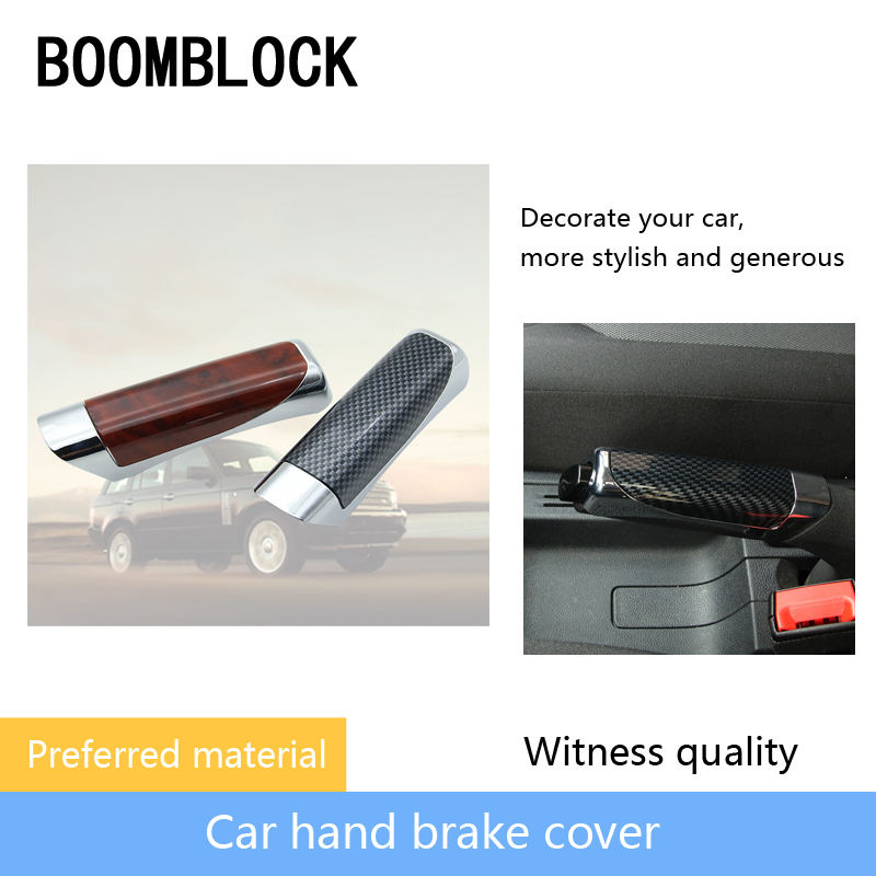 Car Parking Handbrake Grips Protect Covers Sticky For Ford Focus 2 3 Volvo XC90 V70 Suzuki Mitsubishi Jeep Subaru Accessories