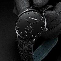 Readeel часы мужские модные спортивные кварцевые часы мужские часы, наручные часы Роскошные повседневные стальные водонепроницаемые наручные