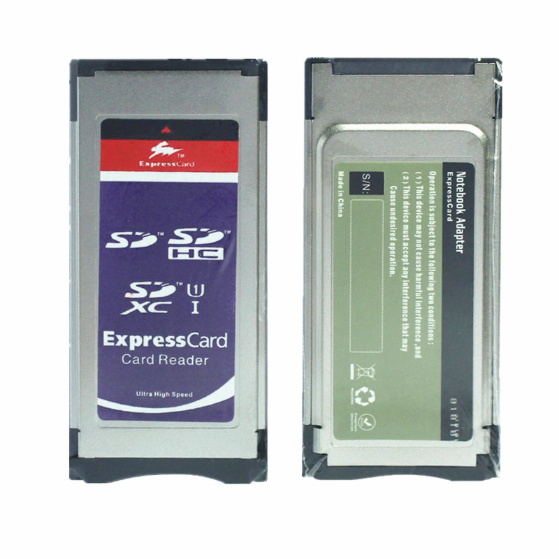 SXS Card Adapter SD SDHC SDXC Card Into Express Card SXS Card Adapter Adaptor For SD SDHC SDXC Card Adaptor