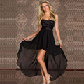 2016 Strapless Midi Sequin Clubwear Sexy Clube Festa de Verão Roupas Moda Feminina Vestidos de Robe Vestido W203140 Maravilha