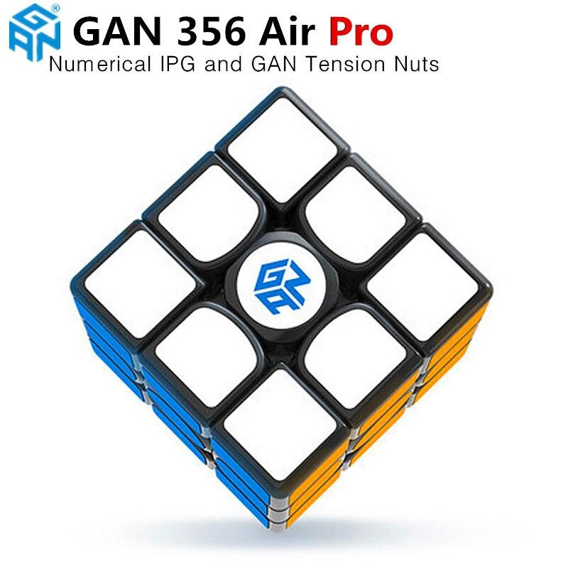 GAN 356 Air Pro 3x3x3 magic speed cube Avec Numérique IPG professionnel gan356 air pro cubes de puzzle gans