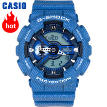Casio watch Outdoor sports shock waterproof double significant men watch GA-110DC-2A все цены