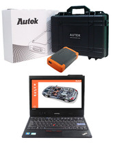 Professional Universal Diagnostic Tool Autek PCI-A6 OBD2 Scanner For BMW for Audi with Thinkpad X220 Tablet ready to use