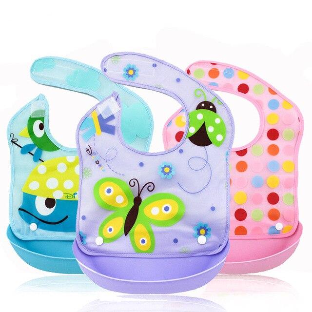 ef0841467 V TREE Waterproof Baby Bibs Children Cartoon Scarves Apron Boys ...