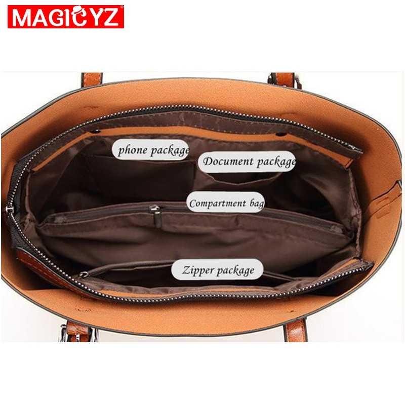 Torebki damskie lśniący połysk torebki damskie skórzane luksusowe Lady torebki z kieszenią kieszeń kobiety torba duża torebka Sac Bolsos Mujer