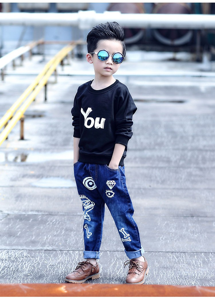high quality fashion 2017 children jeans for boys kids scrawl pattern denim pants clothing children baby little big boy jeans clothes 6 7 8 9 10 11 12 13 14 15 16 years old (18)