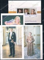 BL0107 2013 Handed Three Generations Of The Royal Netherlands Dutch Official Figures Personalized Stamps 3 Postcards