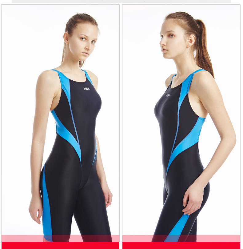 NSA Swimwear Women Arena Swimsuit Girls One Piece Suits Swimming Suit Competitive Swimsuits Maillot De Bain Swim Suit(China)