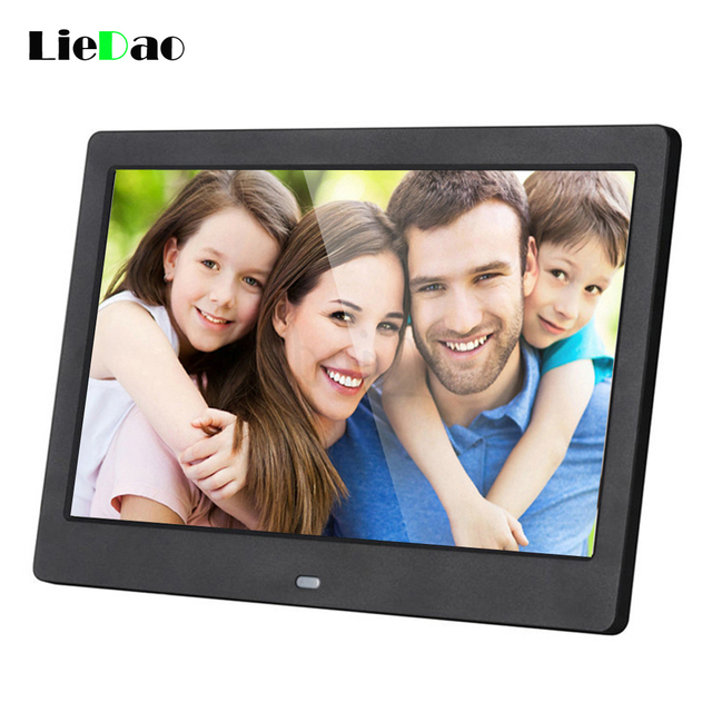 Flash Sale New 10 inch Screen Digital Photo Frame HD 1024 x 600 Electronic Album Picture Music Video Full Function Good Gift