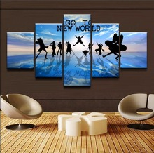 One Piece Strong World Canvas Print Poster