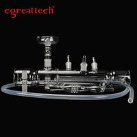 Cgreattech Brand C Great Printed Glass Hookah Mp5 Shisha Hookah