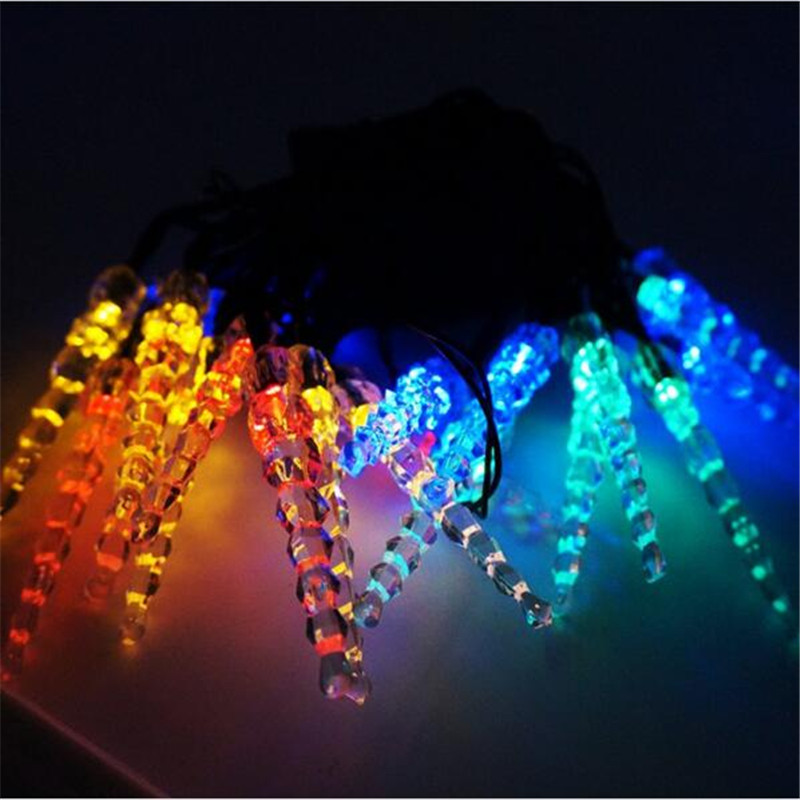 3M Solar Icicle String Lights 20 LED Christmas Party Festival Decoration Solar Powered Fairy Lights