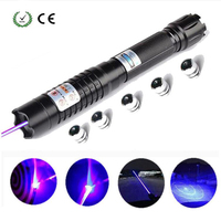 laser pointer Most Powerful lazer Blue Laser Torch 445nm 10000m Focusable sight Pointers Flashlight burn match candle lit