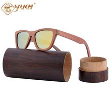 Retro skateboard wood sunglasses handmade wooden sun glasses polarized driving fishing eyewear glasses for men women W011