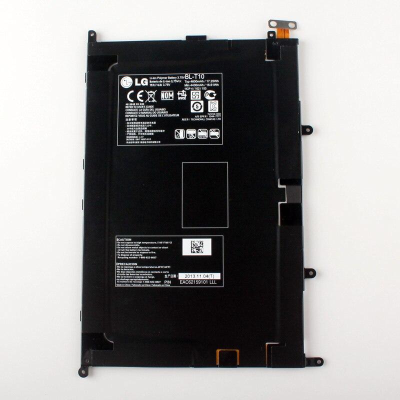 Nouvelle d'origine lg bl-t10 interne batterie pour lg gpad g pad 8.3 bl-t10 vk810 v500