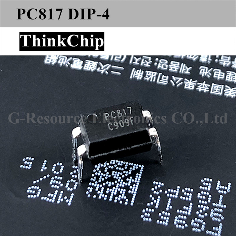 Free Shipping 50 PCS / Lot PC817 PC817C EL817 DIP-4 Transistor Output Optocoupler