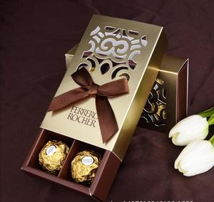 Image 2 - 20pcs FERRERO ROCHER Boxes Wedding Favors Sweet Gifts Bags Party Supplies Baby Shower Ferrero Chocolate Candy Box