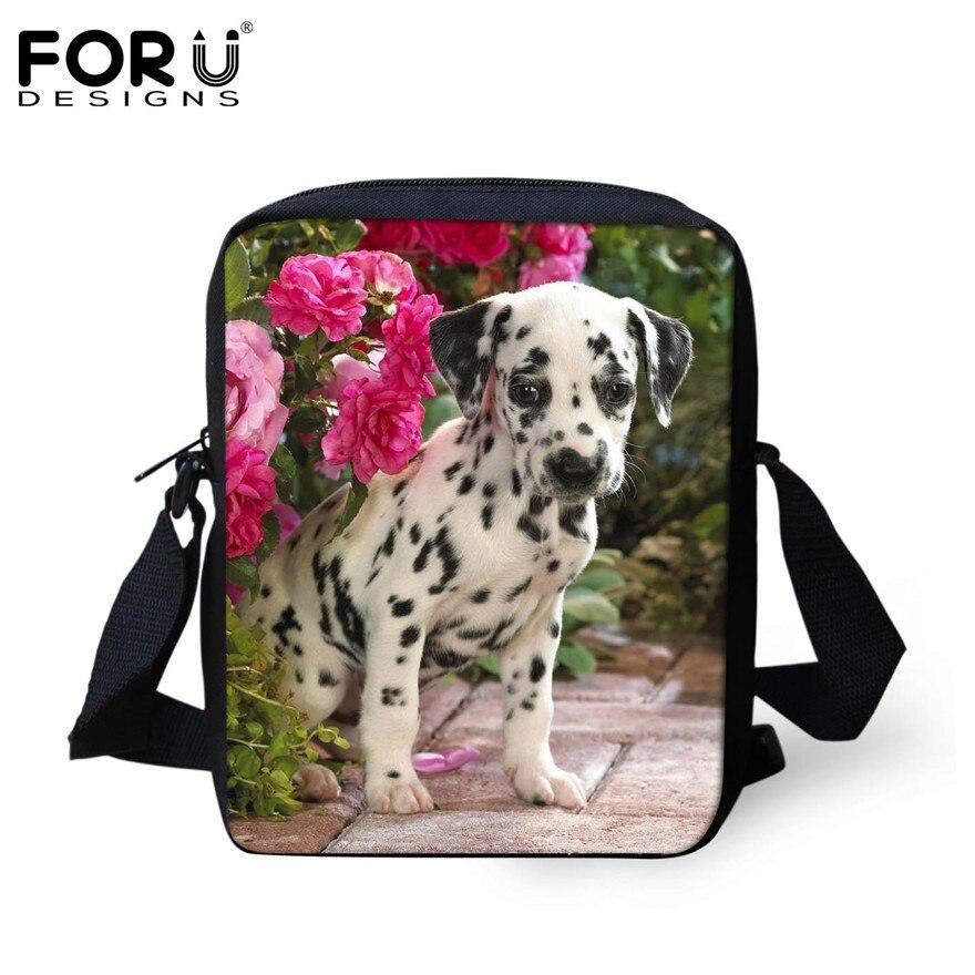 FORUDESIGNS/женская маленькая сумка через плечо с объемным рисунком собаки чихуахуа, модные женские сумки-мессенджеры, сумки через плечо - Цвет: H287E