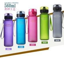 Envío Gratis Nuevo Al Aire Libre Deportes Ciclismo Camping 400 ml-650 ml Matorrales Portátil Taza Espacio Deportes Botella de Agua 5 colores