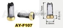 200 Teile/satz top-qualität fuel injector micro filter fit für marelli düse und suitble ford autos (13,7×6,6×2,8mm, AY-F107A)